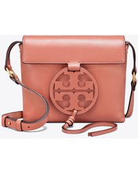 9547cc46e807 Genuine Leather Miller Cross-body Bag. £354. FORZIERI · Tory Burch - Miller  Cross-body - Lyst