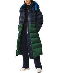 Tory Sport Performance Satin Sleeping Bag Coat - Green