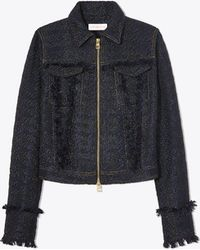 Tory Burch - Aria Tweed Jacket - Lyst