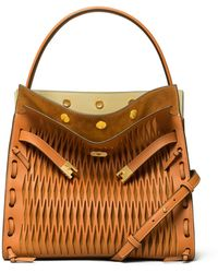 Tory Burch Lee Radziwill Double Bag - Brown