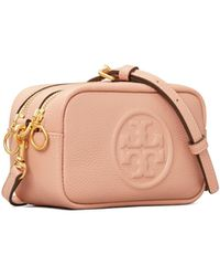 Tory Burch Perry Bomb © Mini Bag - Rot