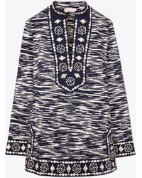 Tory Burch | Embellished Tory Tunic | Lyst