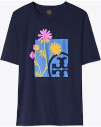 Tory Burch - Posie T-shirt - Lyst