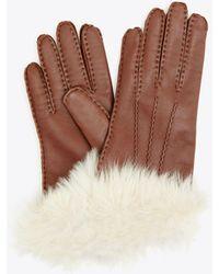 Tory Burch - Shearling Glove - Lyst