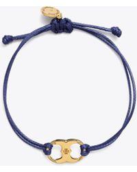 Tory Burch Embrace Ambition Bracelet - Blue