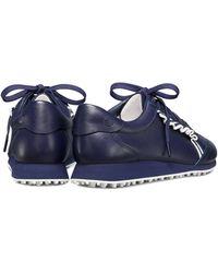 Tory Sport Golf Ruffle Sneakers - Blue