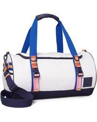 Tory Sport Ripstop Nylon Color-block Duffle Bag - Blue