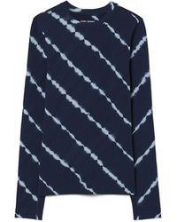 Tory Sport - Tie-dye Seamless Long-sleeve Top - Lyst
