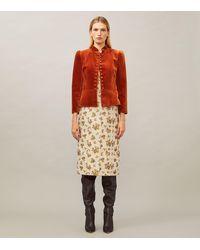 Tory Burch Velvet Jacket - Multicolor