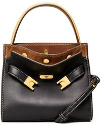 Tory Burch - Lee Radziwill Petite Double Bag - Lyst