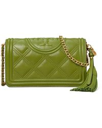 Tory Burch - Fleming Soft Wallet Crossbody - Lyst