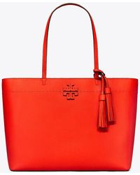 Tory Burch - Mcgraw Tote Bag - Lyst