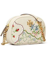 Tory Burch Kira Mixed-floral Camera Bag - Multicolor