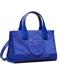 Tory Burch Ella Micro Tote - Blau