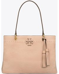 Tory Burch - Mcgraw Triple-compartment Ring Tote - Lyst