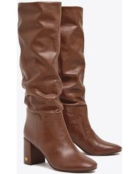 Tory Burch - Brooke Slouchy 75mm Boot | 006 | Knee Boots - Lyst