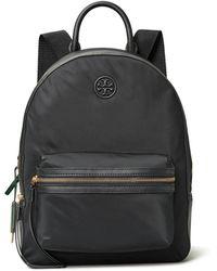 Tory Burch Perry Nylon Zip Backpack - Black