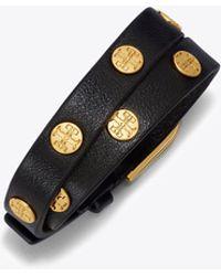 Tory Burch | Double-wrap Logo Stud Bracelet | Lyst