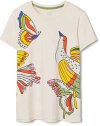 Tory Burch Printed T-Shirt - Weiß