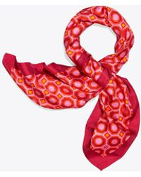 Tory Burch - Octagon Neckerchief - Lyst