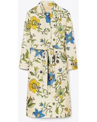 Tory Burch Quilted Trench Coat - Multicolour