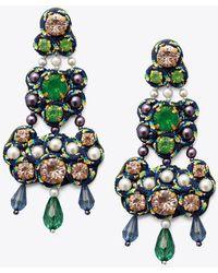 Tory Burch | Beaded Chandelier Earrings | Lyst