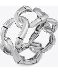 Tory Burch - Chain Statement Bracelet - Lyst