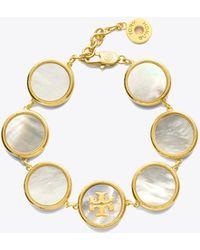 Tory Burch Semi-precious Multi Bracelet - Metallic
