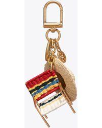 Tory Burch - Beach Chair Key Fob | 986 | Key Fobs - Lyst