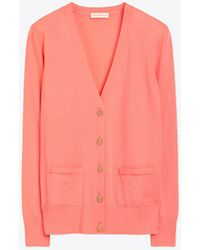 Tory Burch Madeline Cardigan - Pink