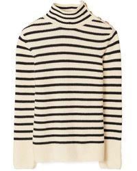 Tory Burch Striped Sweater - Mehrfarbig