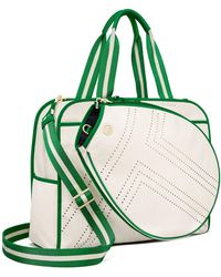 Tory Sport Convertible Perforated-t Tennis Tote - Green