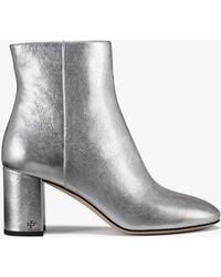 Tory Burch - Brooke Metallic Bootie - Lyst