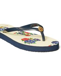 Tory Burch Thin Flip Flop - White