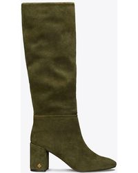 Tory Burch - Brooke Suede Slouchy Boot - Lyst