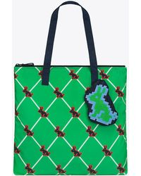 Tory Sport - Tory Burch Pixel-rabbit Packable Tote - Lyst