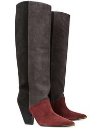 Tory Burch Lila Knee High Boot - Multicolor
