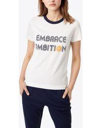 Tory Sport Embrace Ambition T-shirt - White