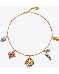 Tory Burch - Snack Charm Necklace - Lyst