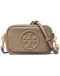 Tory Burch Perry Bombe Mini Bag - Black