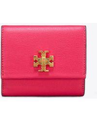 Tory Burch - Kira Foldable Medium Wallet - Lyst