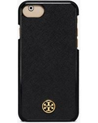 Tory Burch Robinson Hardshell Case For Iphone 8 - Black