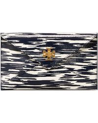 Tory Burch - Turn-lock Patent Envelope Pouch - Lyst