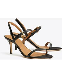 Tory Burch - Penelope 65mm Slingback Sandal | 006 | Heeled Sandals - Lyst