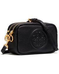 Tory Burch Perry Bomb © Mini Bag - Schwarz