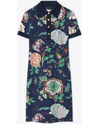 Tory Burch - Ponte Polo Dress - Lyst