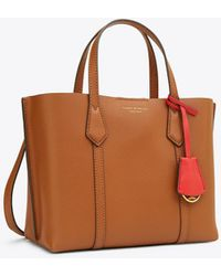 Tory Burch Perry Small Triple-compartment Tote - Gray