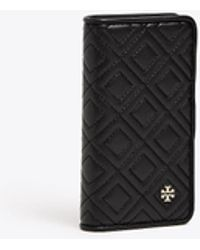 Tory Burch - Fleming Folio Case For Iphone 8 | 001 | Phone Cases - Lyst