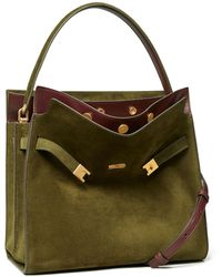 Tory Burch Lee Radziwill Double Bag - Green