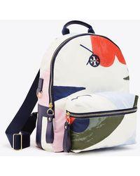 Tory Burch - Tilda Printed Zip Backpack - Lyst